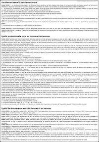 Des mod les d affichages personnalisables docr glo - Affichage obligatoire cabinet dentaire ...